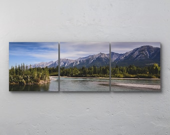 Canadian Rockies Wall Art Set of 3