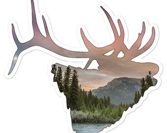 Vinyl Elk Sticker