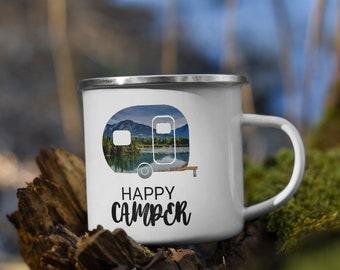 Happy Camper Campfire Mug