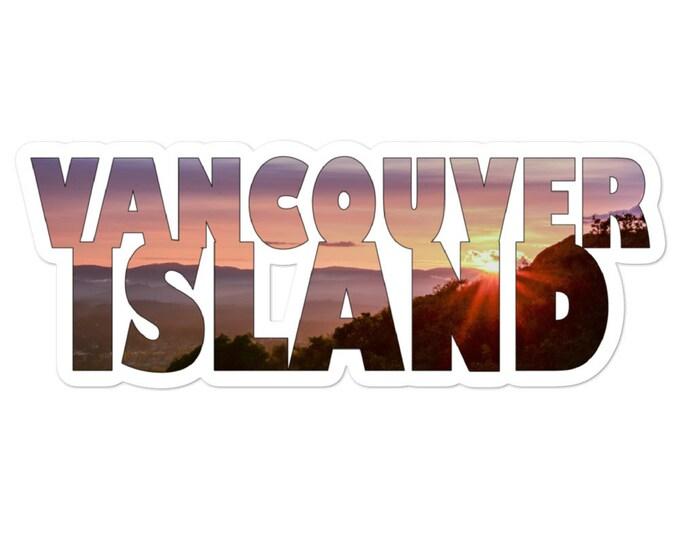 Vancouver Island Sticker