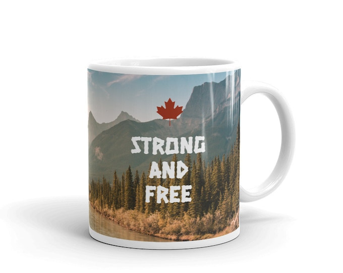Featured listing image: Strong and Free Coffee Mug