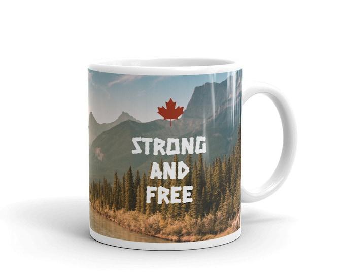 Strong and Free Mug