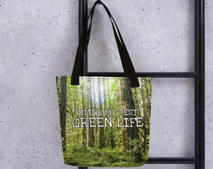 Green Life Tote Bag