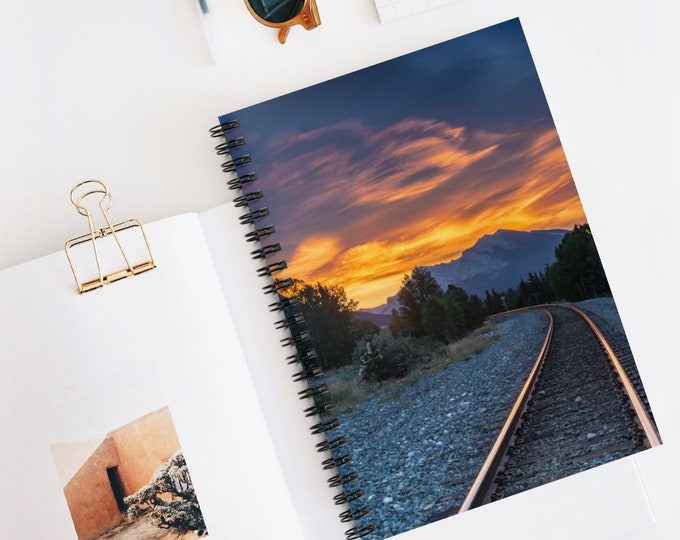 Mountain Sunrise Notebook