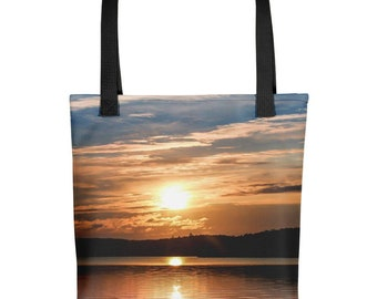 Manitoba Sunset Tote Bag