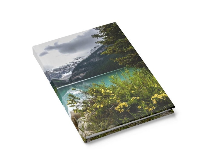 Mountain Journal Hardcover Journal Planning Notebook Travelers Journal Travel Notebook National Park Stationery Gift for Her Gift for Friend