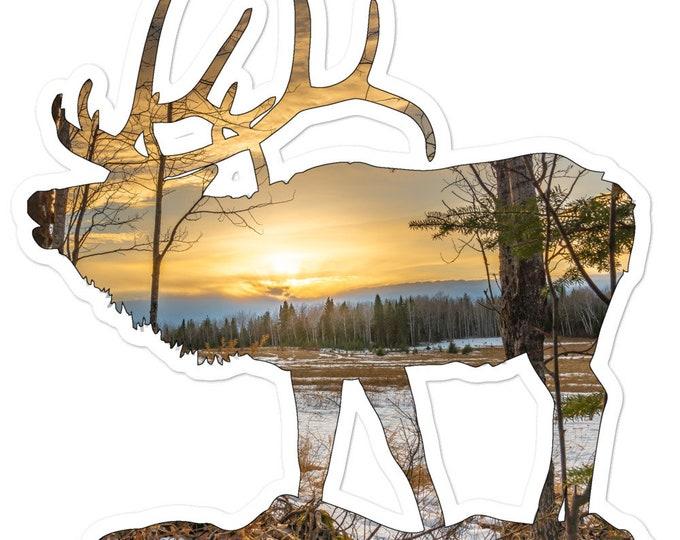 Elk Sticker