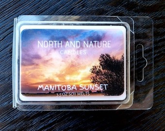 Manitoba Sunset Soy Melts
