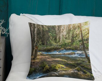 Banff Forest Pillow
