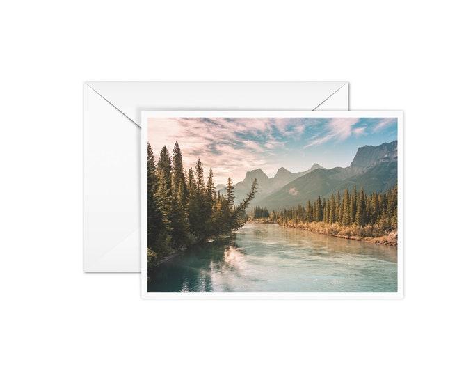 Blank Rocky Mountain Card