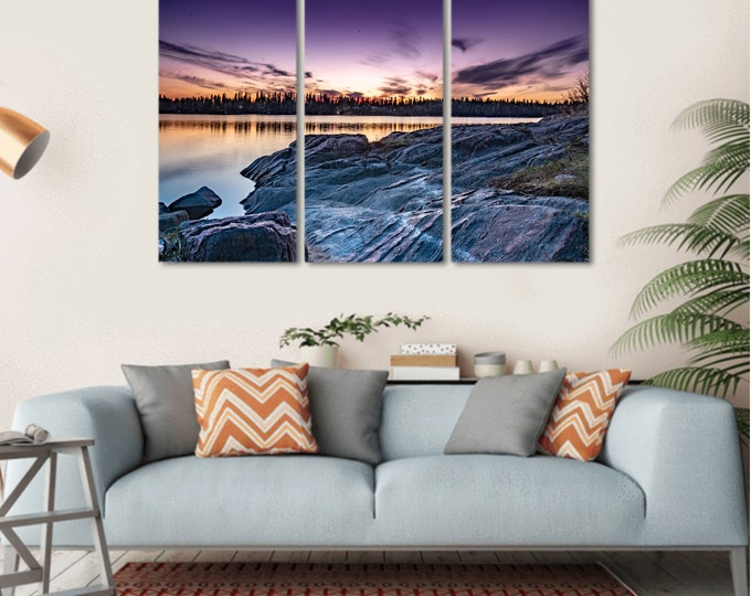 Featured listing image: Serenity Sunset Wall Art(Set of 3)