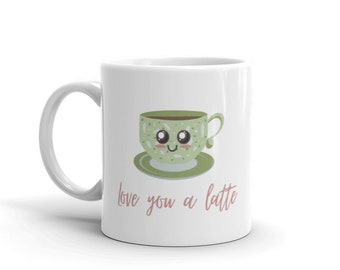 Love You a Latte Mug