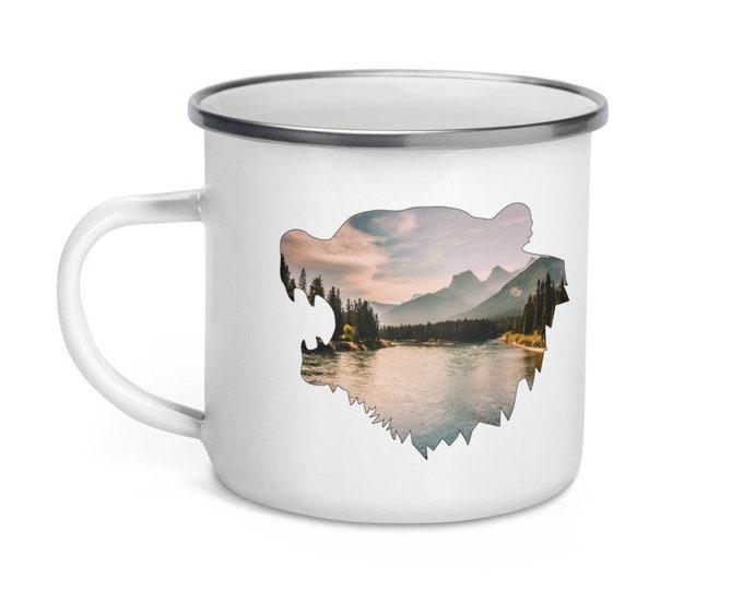 Bear Campfire Mug
