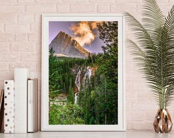 Mountain Waterfall Wall Art