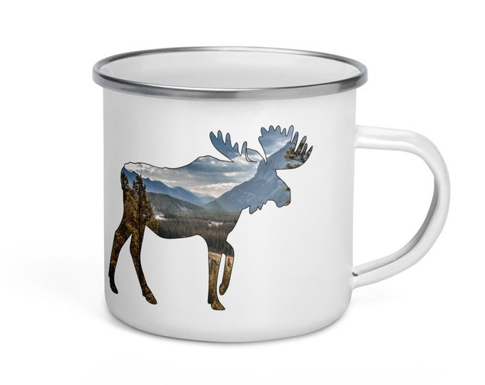 Moose Enamel Mug