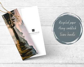 Mountain Landscape Bookmark