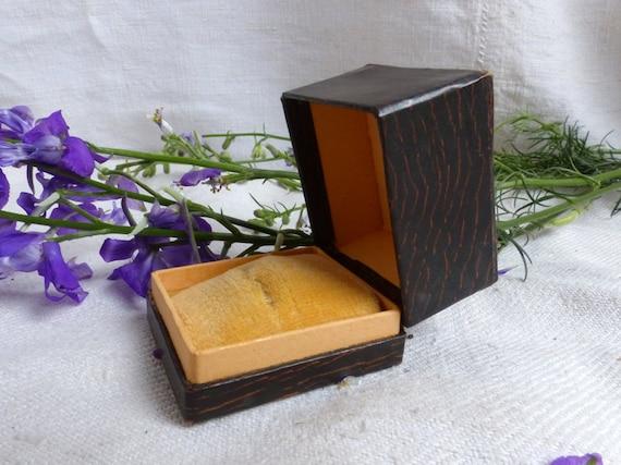 Antike Französische Verlobungsring Kasten Art Deco Faux Etsy