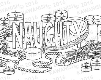 bdsm coloring pages Sexy coloring page | Etsy bdsm coloring pages