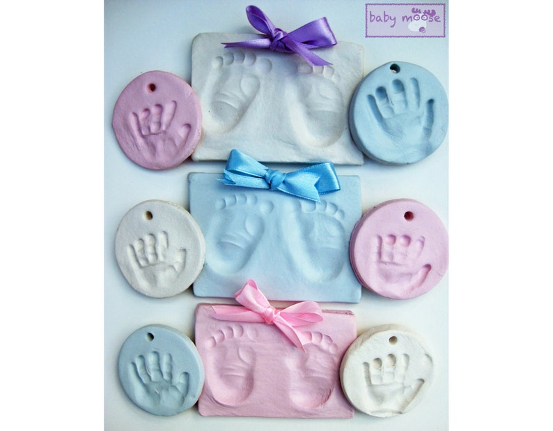 Baby Keepsakes & Announcements Super Soft Air Drying Clay Baby Footprint Handprint Imprint Kit Casting Print US