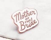 SECONDS PIN - Mother of the Bride Enamel Pin - Wedding Pin - Hen Party Badge - Bachelorette Pin - Hard Enamel Pin - bachelorette party