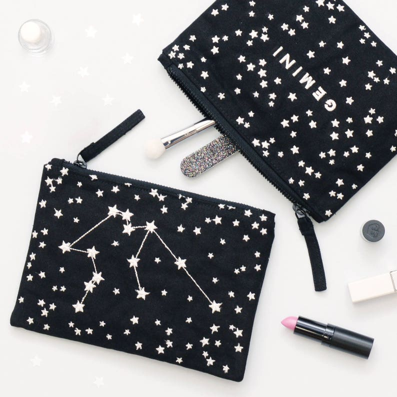 Astrology Gifts  Constellation Bag  Star Sign Birthday Gift image 0