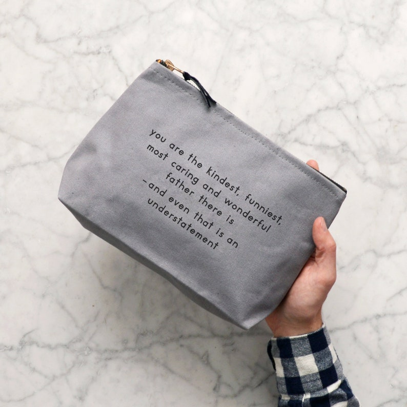 0e60530d53 Men s Wash Bag Dad Toiletry Bag Gift For Dad