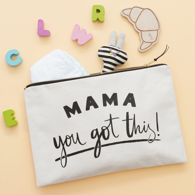 Travel Pouch For Mums  Gift For New Mum  Nappy Wallet  Mama image 0