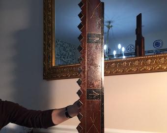 Antique Eastlake Walnut Adjustable Pediment
