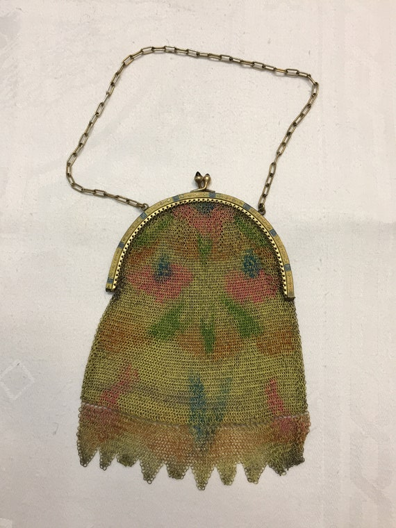 Antique Made in Germany Mesh Bag
