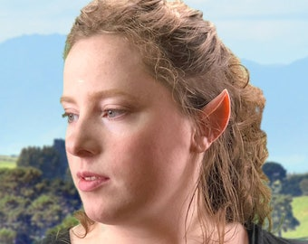 Elf Ears: Classic Style; silicone, long lasting and lifelike, several stock skin-tones