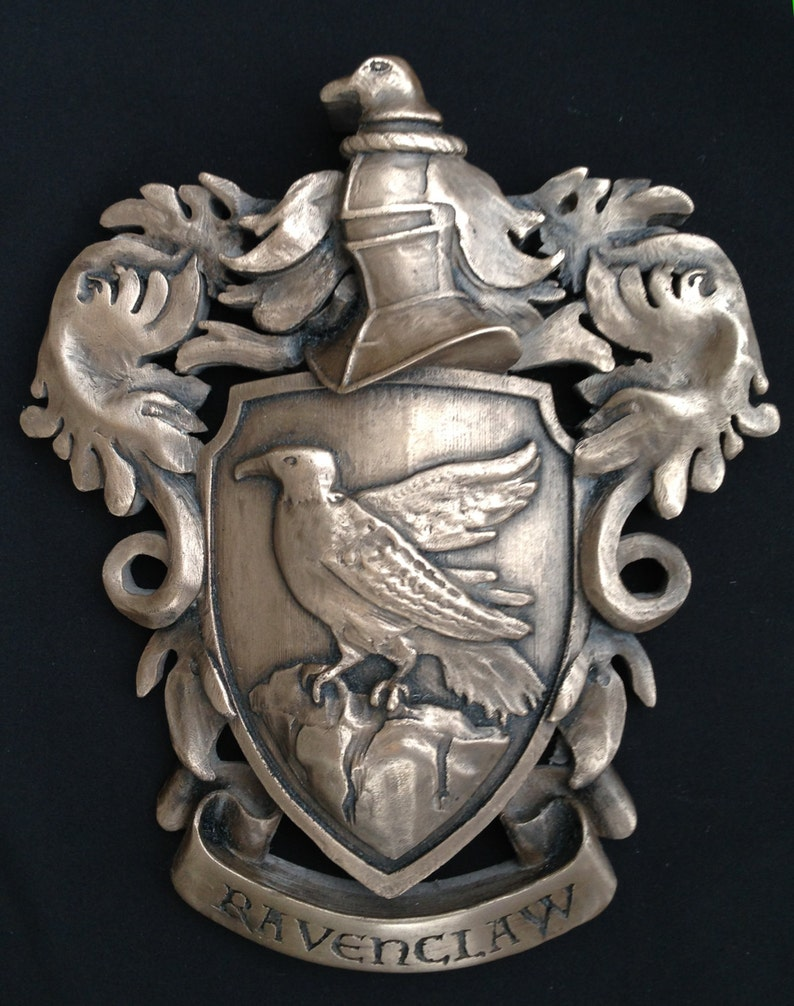 Ravenclaw Crest for Wall hanging or desk reproduction Harry image 0