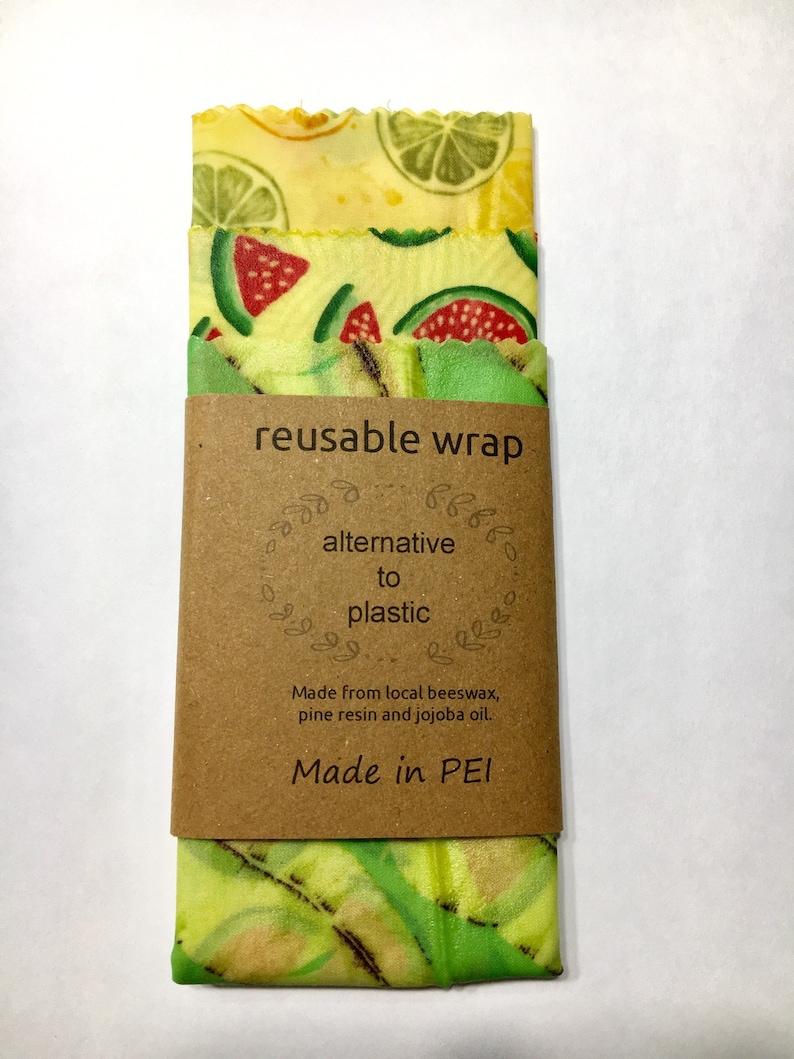 Reusable Beeswax Wrap