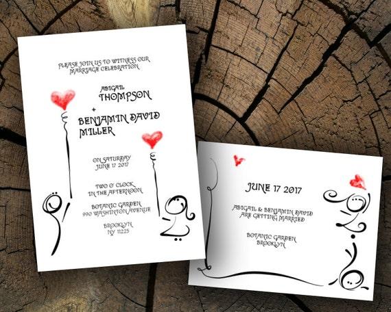 Invitación Conjunto Dulce Corazón Serie Imprimibles Boda Plantilla Microsoft Word Docx Diy Celebración Invitación Instantánea Descarga De Archivos