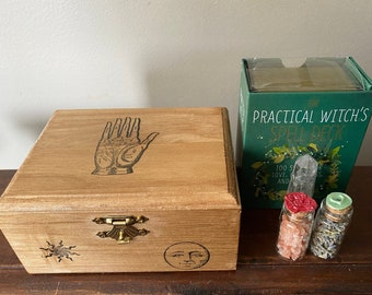 Dual-Deck RPG  MTG   SPELL Card Book-Box With Padlock
