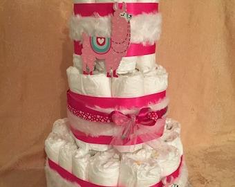 3 Tier Diaper Cake Walt Disney The LION KING Baby Shower Centerpiece boy or girl