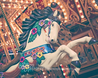 Carousel Horse Photography, Carnival Fine Art photography, Merry Go Round, Fair, Orange County, Carnival, Carousel photographs