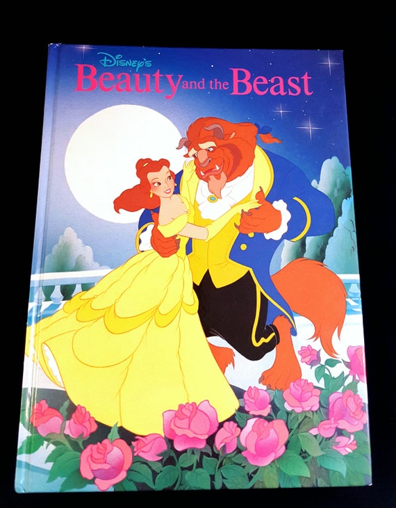 Disney S Beauty And The Beast 1991 Classic Series Large Etsy