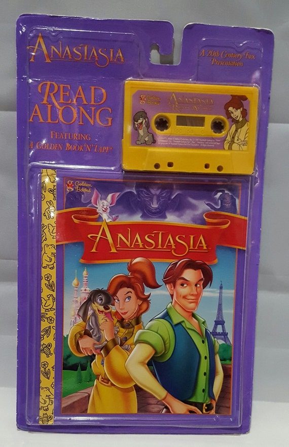 NEW 20th Century Fox Golden Books Anastasia Press Out Paper Doll Book