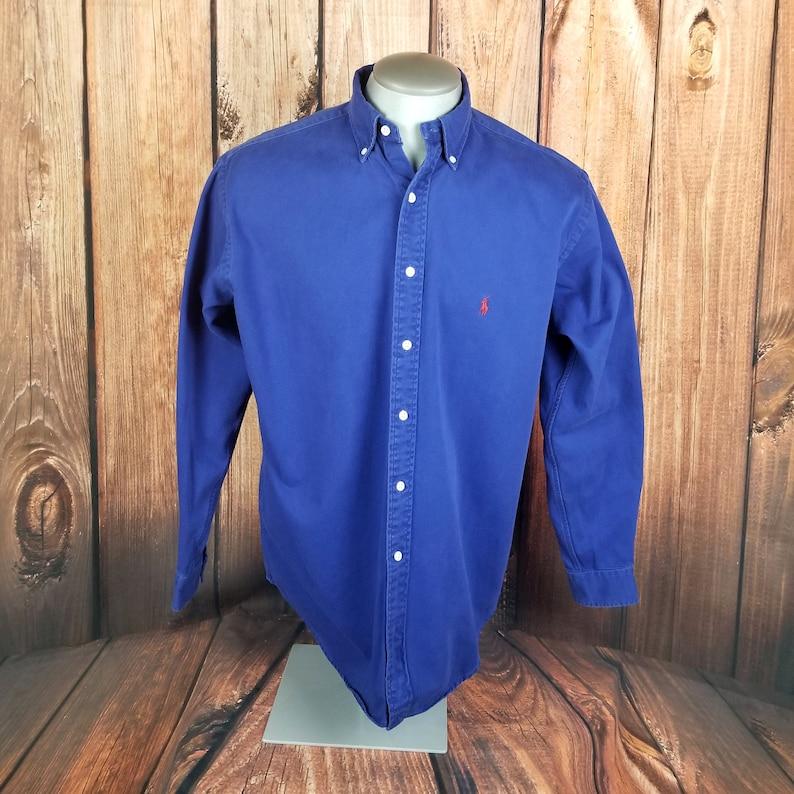 100% Heavy Cotton 3 Button Mens Polo Sweatshirt