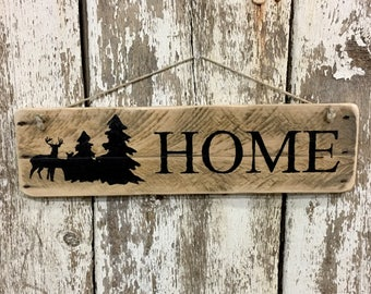 Home Sign Log Cabin Sign Mountain Home Rustic Sign Wood Sign Life is Better in the Mountains Sign Cabin Sign Lodge Sign Reclaimed Wood #3868