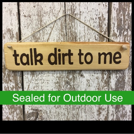 Garden Signs Outdoor Garden Signs Gardening Signs Gifts For Etsy
