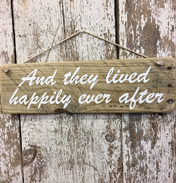 Fairytale Wedding Decor Fairytale Princess Sign They Lived Happily Ever After Fairy Tale Sign Wedding Welcome Sign Once Upon A Time Wedding