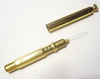Needle Threader - Brass