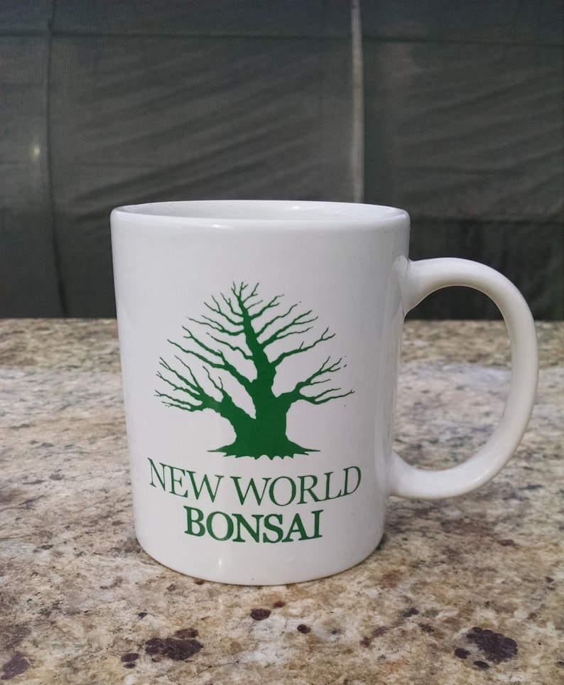 New World Bonsai Original Coffee Mug 12oz Bonsai Tree Coffee Etsy