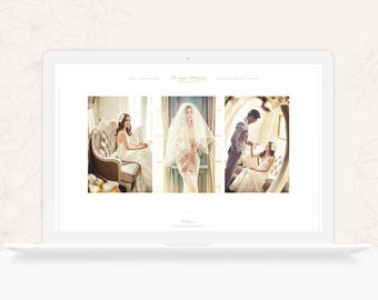 ProPhoto 6 Design Template for Wedding Photographers - Minimal ProPhoto 6 Theme - Photography ProPhoto 6 Website Design - INSTANT DOWNLOAD