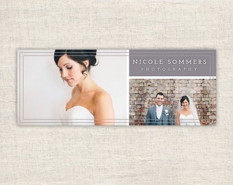 Wedding Facebook Timeline Cover - Timeline Cover Template - Timeline Template - Facebook Photography Timeline Cover  - INSTANT DOWNLOAD