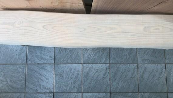 Amazing White Ash Waterfall Bench Theyellowbook Wood Chair Design Ideas Theyellowbookinfo
