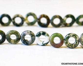 30 mm Donut env Diam/ètre du Trou : env Juergensmineralien Agate Violet 1 Donut 7 mm d/épaisseur 5 mm