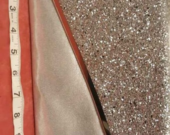 Beautiful sparkly glittery silvertone special occasion evening bag purse clutch