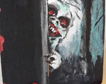 In the Closet (*ode to G.Romero and Tales From the Darkside)